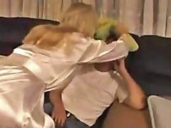 Stallion Has A Blonde Knockout He Can Unload His Sperm In