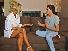 Blonde Mature Rides A Big Dick Porn Videos
