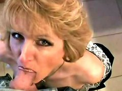Mommys Blowjob In The Bathroom Free In The Bathroom Porn Video