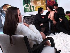 Jennifer Dark Renee Perez In Foursome