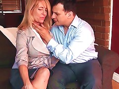Macy Maddison Seduces Her Young Prospective Home Buyer