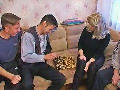 Angela Meeting Her Sons Friends Upornia Com