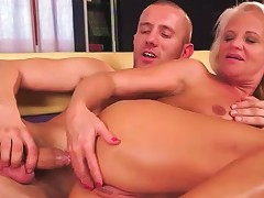 Blonde Mature Screwed Up The Ass Doggystyle
