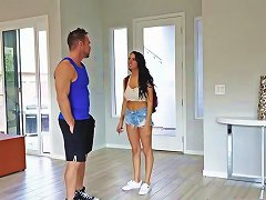 Old Step Mom Sofi Ryan Gets Fucked Hard Touching Son's Friend