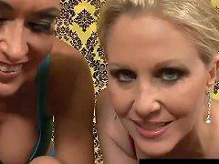 Horny Hot Milfs Julia Ann Jessica James Cum Swap After Bj