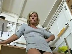 Uber Milf Tracey Coleman Strips Off For Her Husband Apos S Pervy Boss