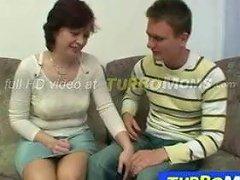 Hairy Amateur Mom Danica Fucking A Male Virgin