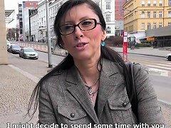 Czech Milf Secretary Pickup Up And Fucked Drtuber