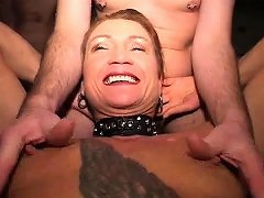 French Redhead Hard Anal Fisted And Fucked In 3way Nuvid