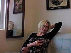 Slutty Grandma In Stockings Fisting Pussy By Dracarys69