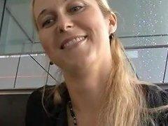 Czech Streets Blonde Milf Picked Up On Street