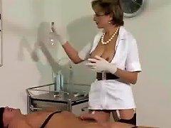 Lady Sonia Nurse Masturbation Cum