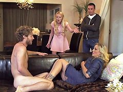 Cougar Brings Home A Younger Guy And Lets Him Plow Her Ass