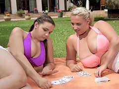 Sofia Lee And Krystal Swift Big Bosomed Babes Lesbian Porn