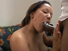 Two Ebony Sluts Eat Stiff Black Cock Then Get Their Huge Butts Rammed For Cream